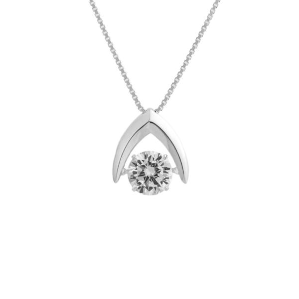 二十歳の記念日のダイヤのネックレス