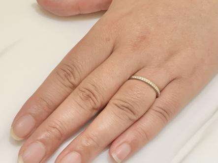 須磨区 RosettE(ロゼット)の結婚指輪をご成約頂きました。