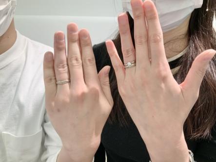 尼崎市 FISCHERの結婚指輪をご成約頂きました。