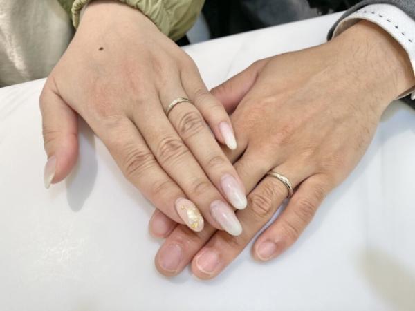 神戸市北区 Stel Giurareの結婚指輪をご成約頂きました。