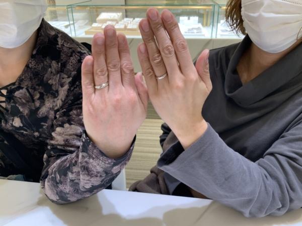 神戸市長田区 Ofertaの結婚指輪をご成約頂きました