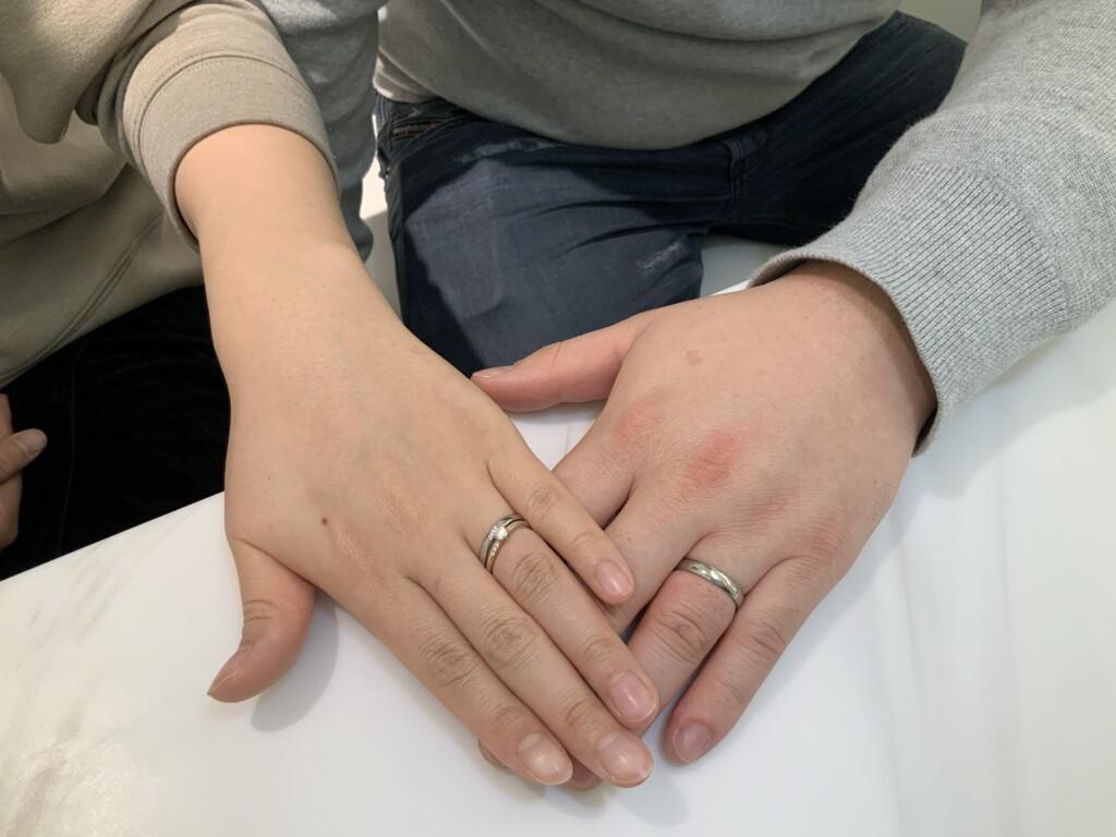 大阪市福島区 ひなの婚約指輪とFISCHER(フィッシャー)の結婚指輪をご成約頂きました