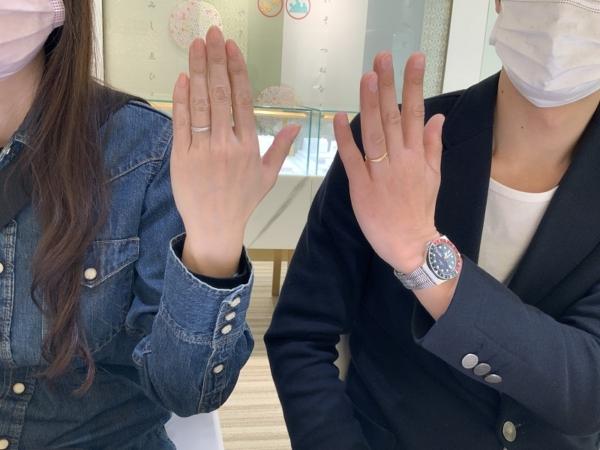 尼崎市 neuspur(ノイシュプール)の結婚指輪をご成約頂きました。