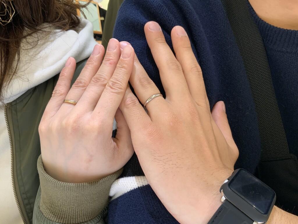三木市 SomethingBlue(サムシングブルー)とAMOUR AMULET(アムールアミュレット)の結婚指輪をご成約頂きまし