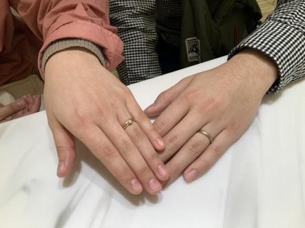 三木市 ALTERGOの結婚指輪をご成約頂きました。