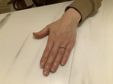 大阪市阿倍野区 LAPAGEの婚約指輪をご成約頂きました