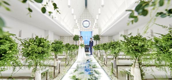 神戸・三ノ宮でおすすめの結婚式場でTHE MARCUS SQUARE KOBE