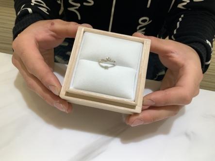 神戸市西区 LAPAGEの婚約指輪・結婚指輪をご成約頂きました。