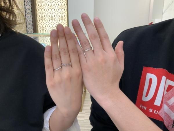 大阪府八尾市 et.luの結婚指輪をご成約頂きました