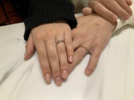 京都府舞鶴市 nocurの結婚指輪をご成約頂きました