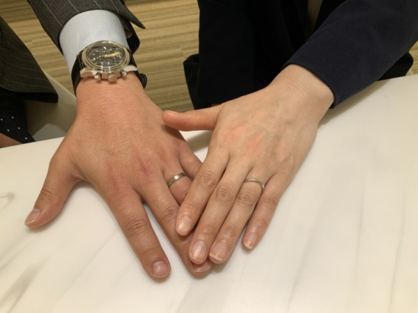 篠山市 FISCHERとPulitoの結婚指輪をご成約頂きました