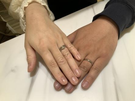 兵庫県西宮市 FISCHERの結婚指輪をご成約頂きました