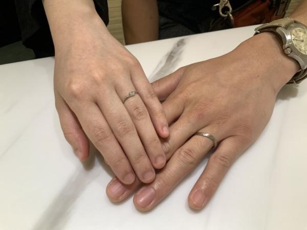 兵庫県明石市 FISCHERの結婚指輪をご成約頂きました