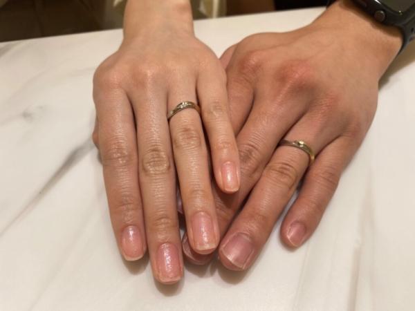 大阪府堺市 LAPAGEの結婚指輪をご成約頂きました