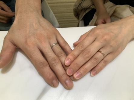 兵庫県西宮市 nocurとJoyeuxの結婚指輪をご成約頂きました