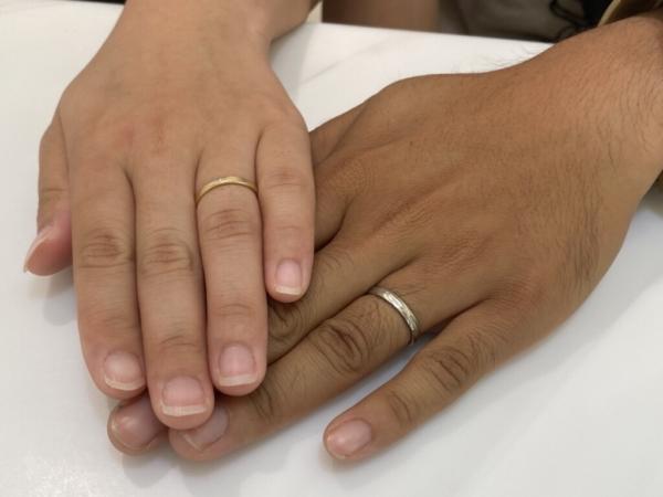 神戸市兵庫区 FISCHERの結婚指輪をご成約頂きました