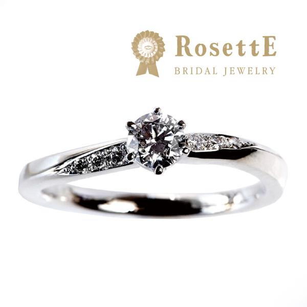 ロゼット 婚約指輪 月あかり
